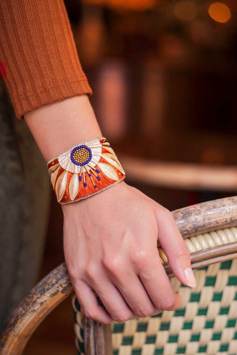 Bracelet ethnique Apauline | Copper | Photo 1