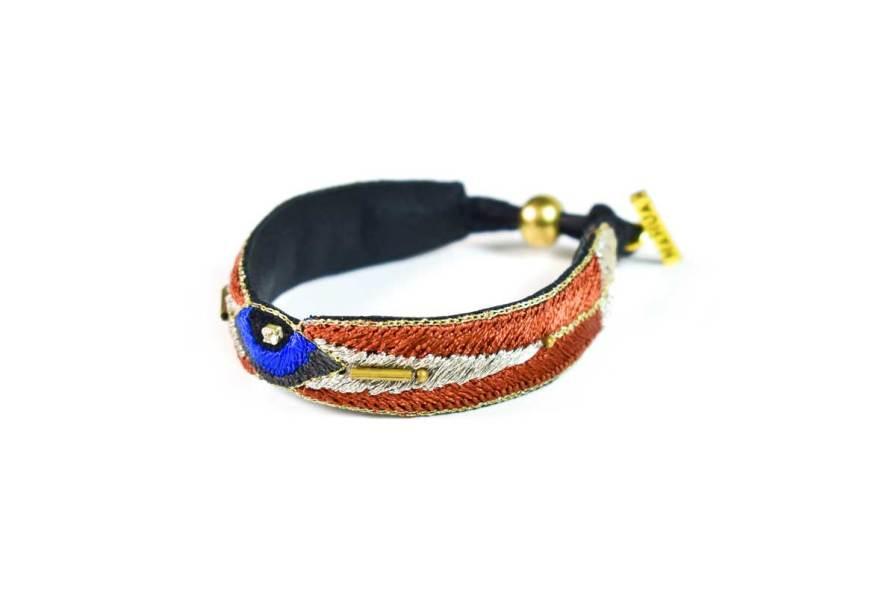 Bracelet bohème Horis | Copper | Photo 2