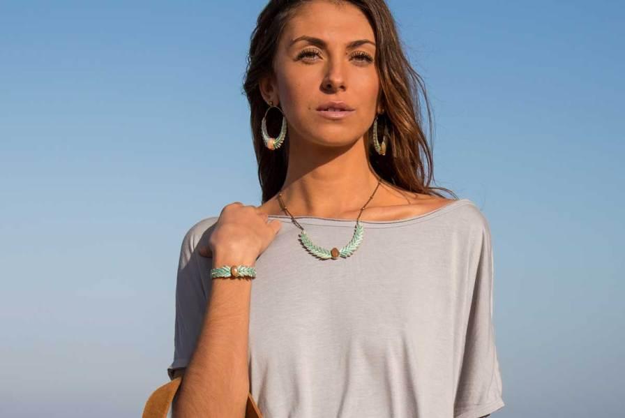 Bracelet chic Loriane | Aqua | Photo 1