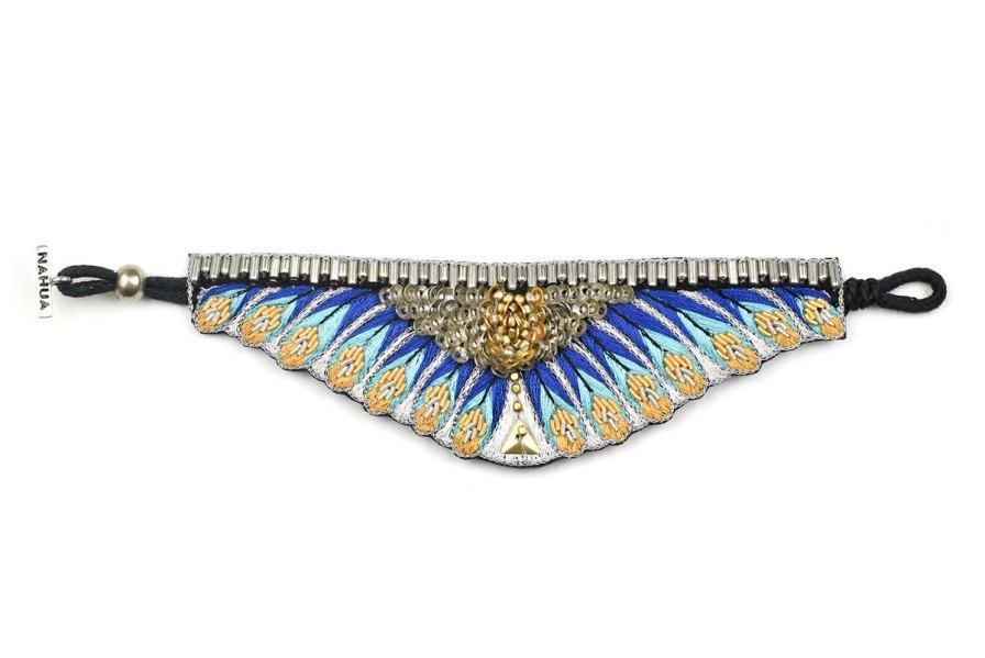 Bracelet ethnique Nita   Blue greek   Photo 3