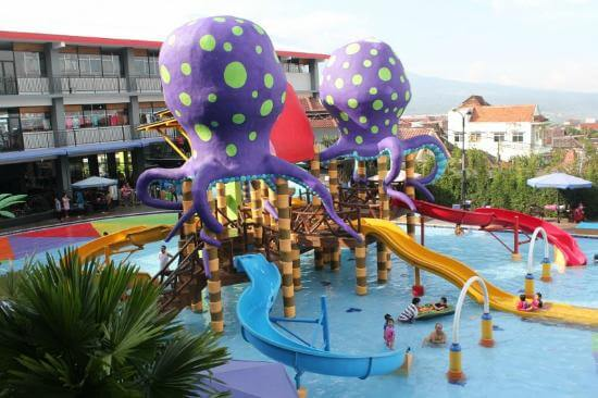 waterpark mini di batu wonderland