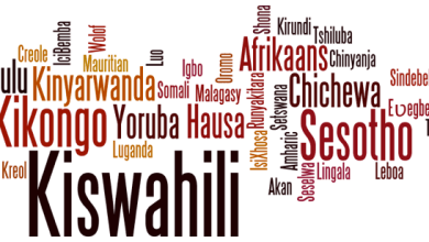 Photo of africa languages