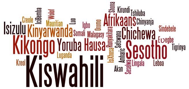 Africa languages