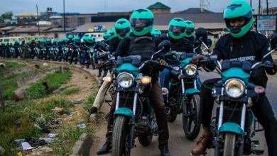 Photo of Okada riders protest ban in Ikeja, Lagos