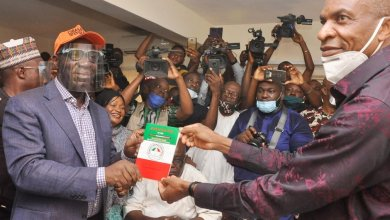 Photo of Obaseki, deputy defect to PDP, get waiver