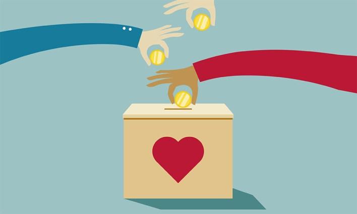 fundraising coin NGO