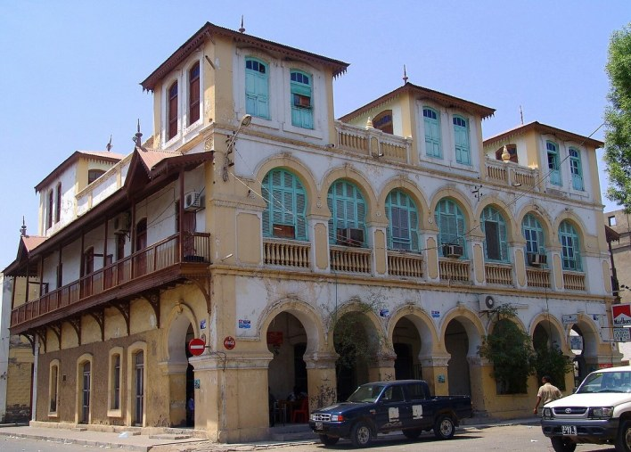 An Ancient Building known for his archeological stands built in an Ottoman style in Djibouti