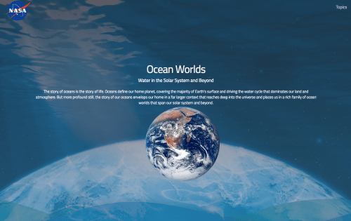 small resolution of the ocean worlds nasa website provides a cool online reference for learning all about the history and presence of water in our solar system and beyond