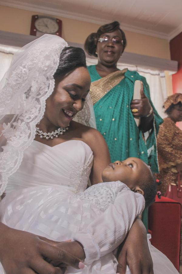 PHOTOS Betty Kyalo and Dennis Okaris Glamorous Wedding