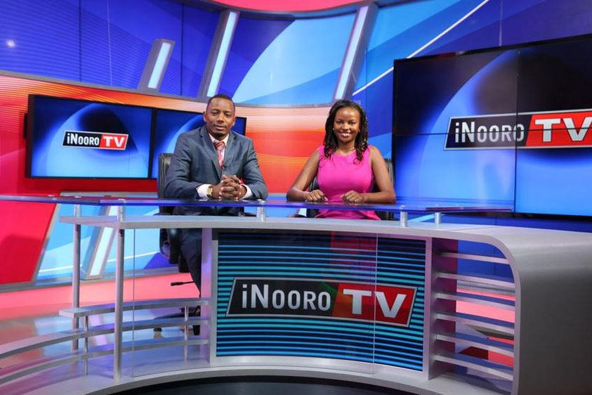 Inside Inooro TV Studio The Latest Vernacular TV Station