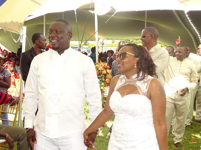 Citizen TVs Michael Njenga Got Married To This Beautiful Lady PHOTOS  Naibuzz