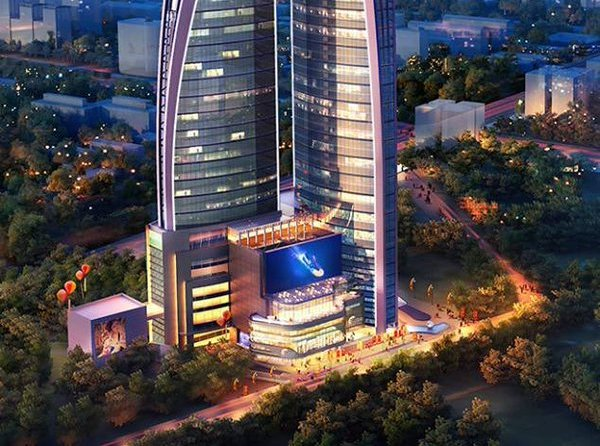Africas Tallest Building Now Under Construction In