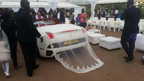 Ugandan Tycoon SK Mbuga Has Insanely Expensive Wedding