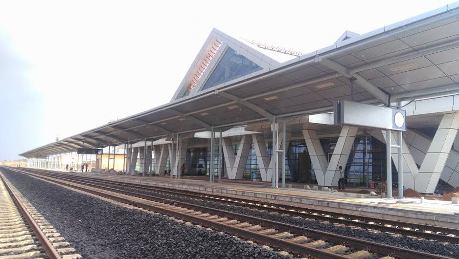 PHOTOS The SGR Station At Mtito Andei Looks Amazing  Naibuzz