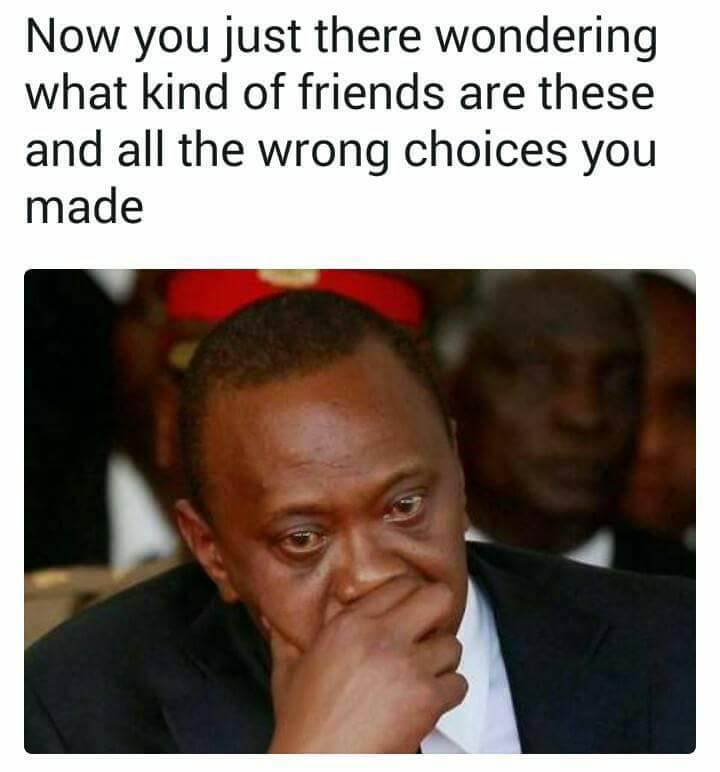 Guy Storytelling Using Uhuru Kenyatta Memes Is The Most Creative Hilarious Thing In 2018  Naibuzz