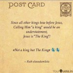 MUSIC:Ruth Oluwadamilola – Not A King But The King