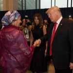 Buhari And Donald Trump Yet To Meet At UN After 'Lifeless Comment'. Photos