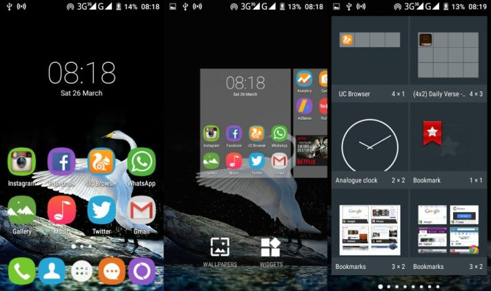 Oukitel C2 user interface review