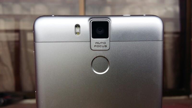 Oukitel k6000 pro fingerprint sensor