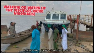 Download Comedy Video:- Xploit – Walking On The Sea (If The Disciples Were Nigerians)