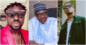 Exclusive: Wizkid is stupid for criticizing President Buhari – Singer Blackface says (video)