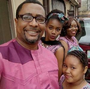 Tony Umez and family.