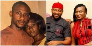 Yul Edochie and wife.
