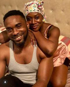Uzor Arukwe and wife.