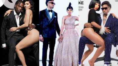 Photo of Mercy And Ike Called Out For 'Copying' Kylie Jenner And Travis Scott R@unchy Pose (Pictures)