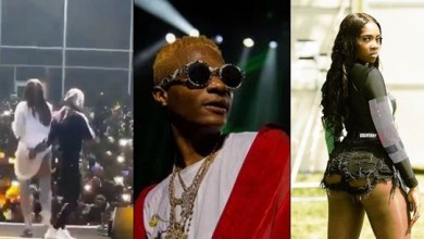 Photo of Wizkid Seen Grabbing And Squeezing Tiwa Savege's Ass (Video)