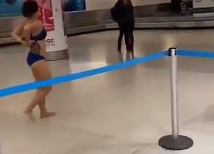 Photo of Woman Spotted Naked In Miami International Airport