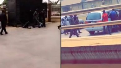 Photo of Soldiers Drill Sars Official That Raids Colonel's Hotel