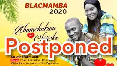 Photo of Blacmamba 2020 Shifts Indefinitely