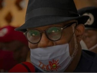 Akeredolu - Testing positive to COVID-19 won't stop my victory