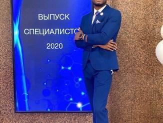 Sechenov University, Russia : Dr. Chidubem Obi Graduates With 5.0 GP