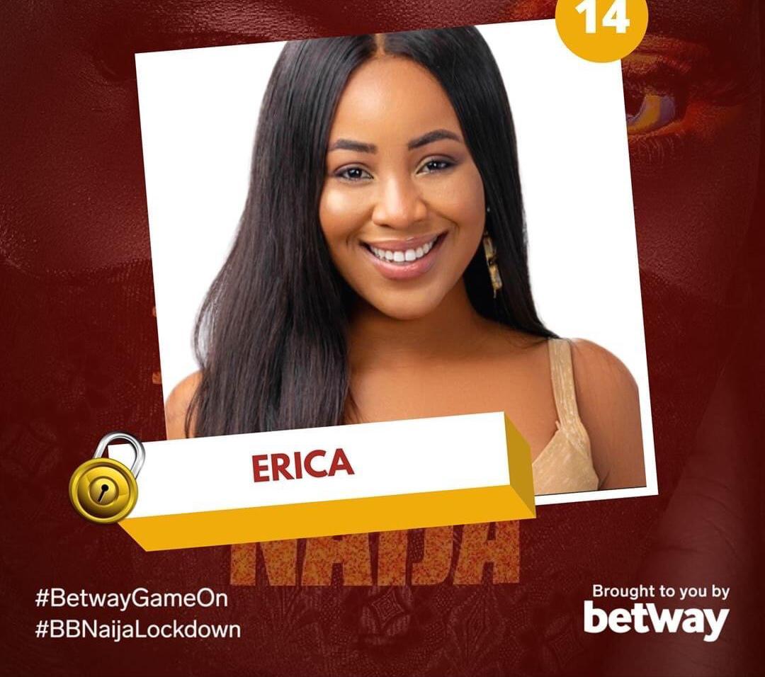 BBNaija : Darling NG recognise Erica