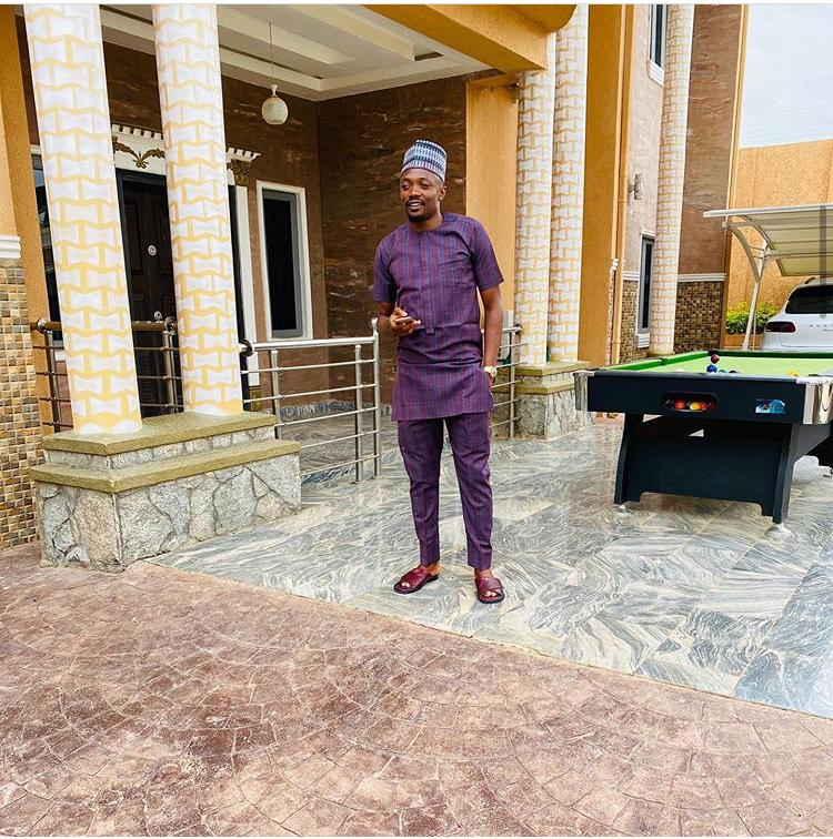 Footballer, Ahmed Musa shares first photo of his newborn son