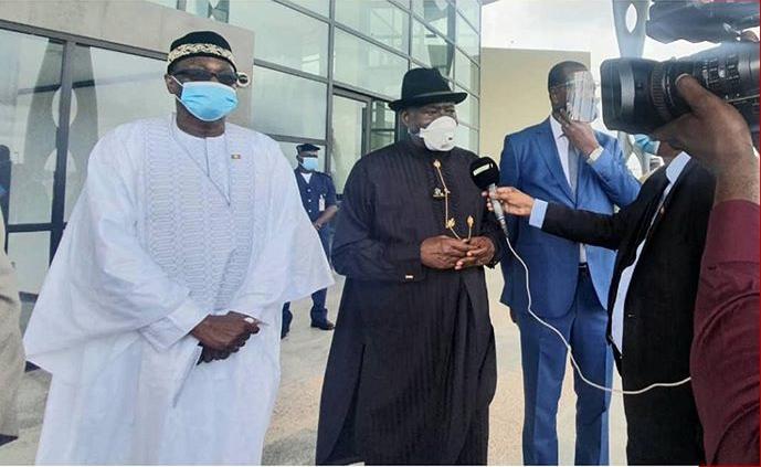 Goodluck Jonathan urges Malians to embrace dialogue