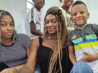Yul Edochie shares beautiful photo of his family