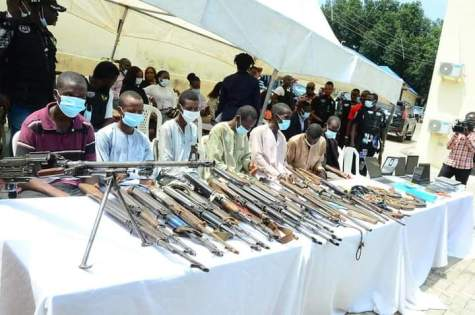 Police Arrest 2 Abductors of A Catholic Priest, 45 Others Criminals suspects