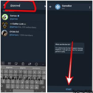 play games on telegram