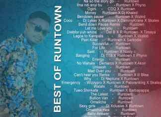 """Dj Kay Y """"Best of Runtown"""" Mixtape 2018 [Latest Songs]"""