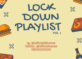 DJ License – Lock down Playlist Mix (vol 1) 2020