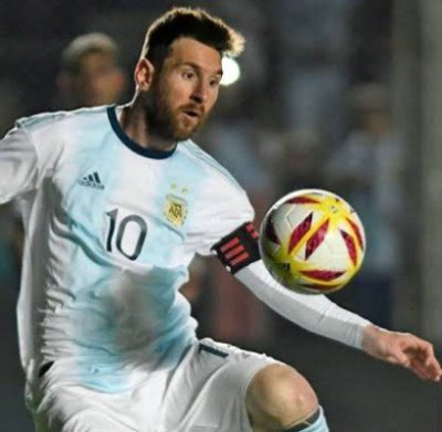 Goldmedaille Messi
