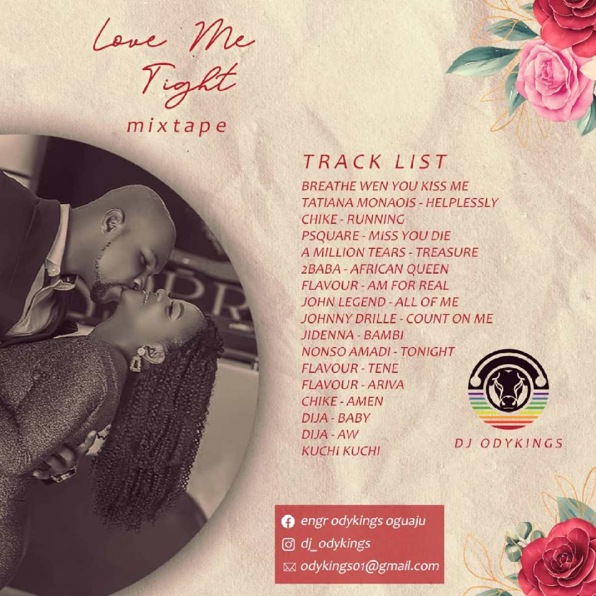 Download DJ Odykings – Love Me Tight Mixtape