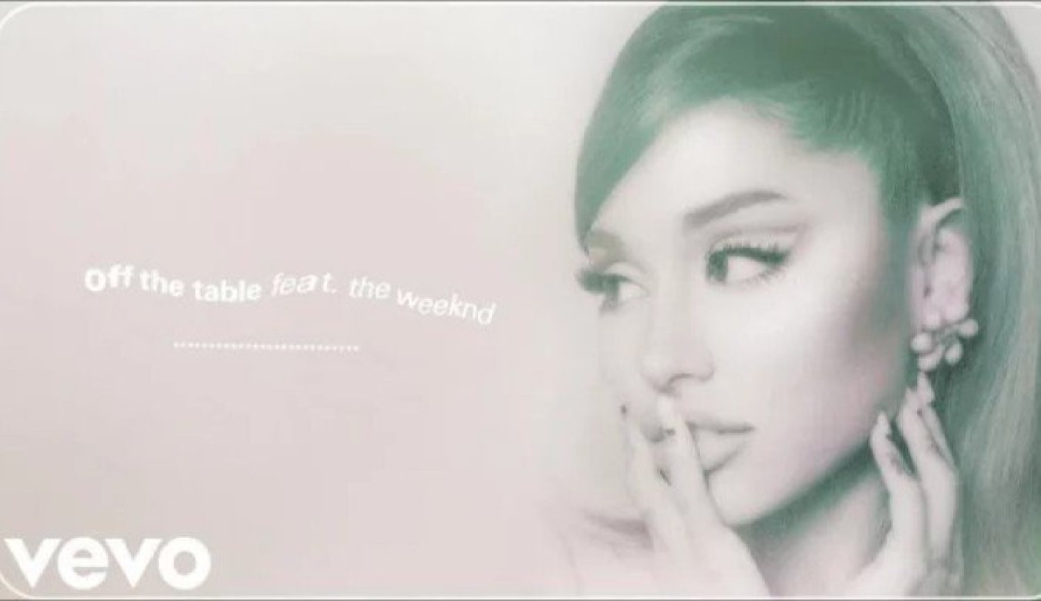 DOWNLOAD MP3: Ariana Grande Ft. The Weeknd – Off The Table