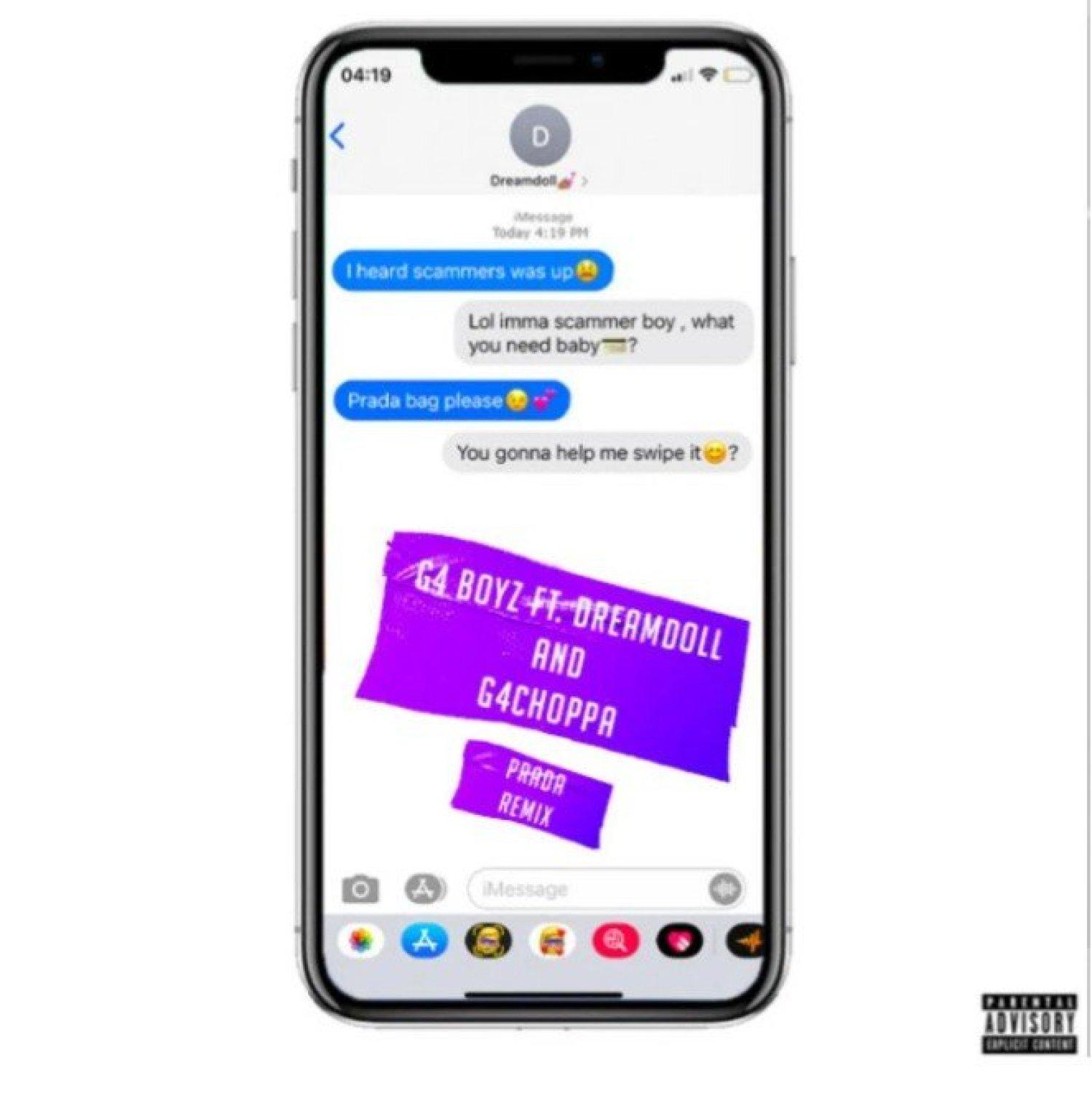 DOWNLOAD MP3: G4 Boyz Ft. Dreamdoll & G4Choppa – Prada (Remix)