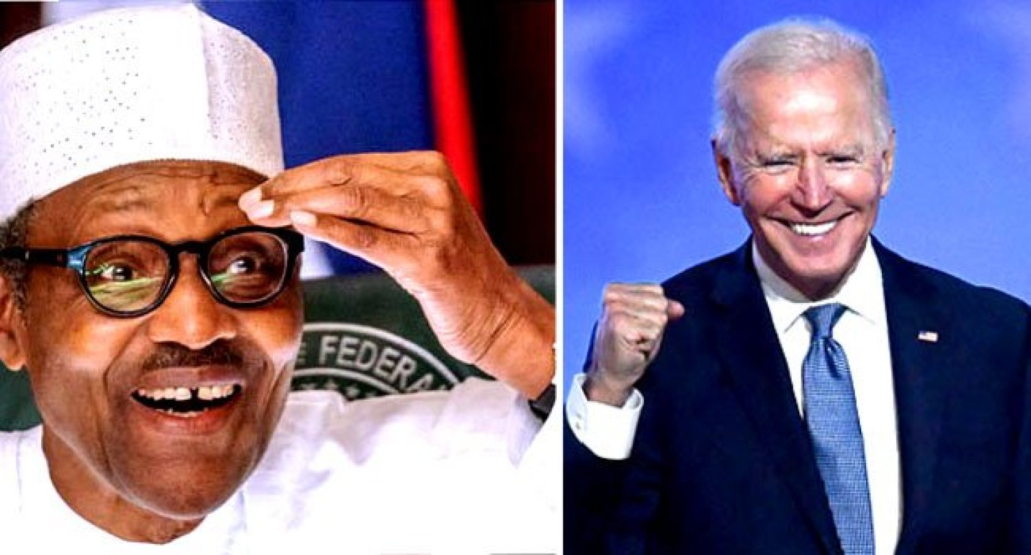 President Buhari Congratulates Joe Biden, Says Nigeria Looks Forward To Greater Cooperation With USA