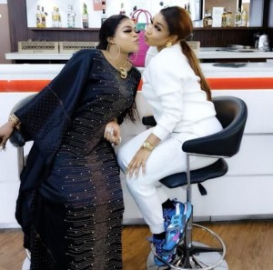 Bobrisky has said he will forever be loyal to actress, Tonto Dikeh after the duo celebrated their fourth friendship anniversary.