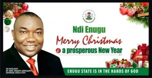 As Christians commemorate the birth of Jesus Christ, Governor Ifeanyi Ugwuanyi of Enugu State, has called on Nigerians to take advantage of the religious event to offer special prayers for sustained peace, unity and progress of the country.
